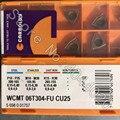 WCMT06T304-FU CU25 10 шт. карболоидные карбидные вставки
