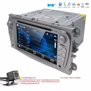 US/EU warehouse Car DVD multimedia Player For FORD Mondeo S-MAX Connect FOCUS 2 2008 2009 2010 2011 GPS Navi RDS BT free Map Cam(China)