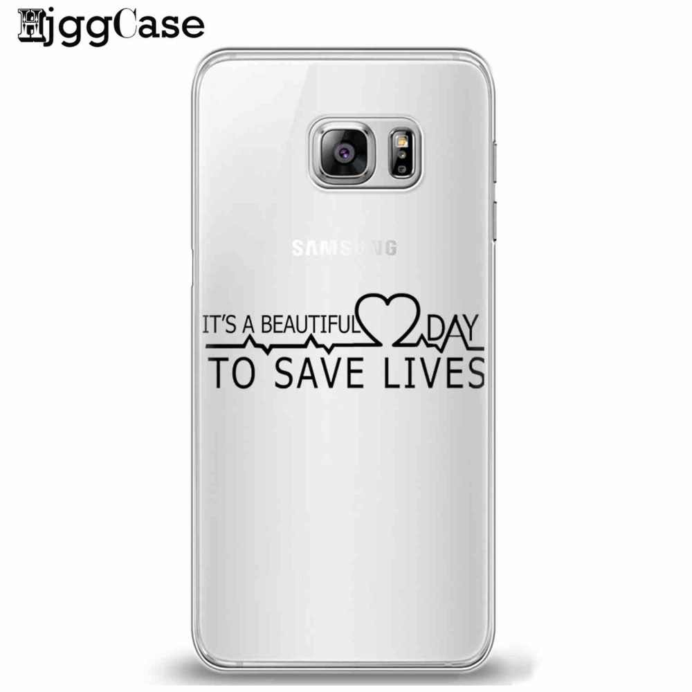 Gray 'S Anatomy Anda Adalah Pribadi Saya untuk Samsung Galaksi S6 S7 Sisi S8 S9 Plus J3 J4 J5 J6 j7 A3 A5 A6 A7 2016 2017 A8 Plus 2018