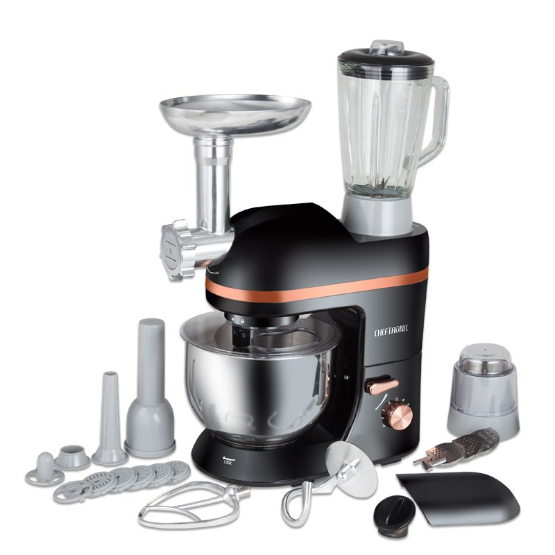 220V Multifunction Electric Dough Mixer Eggs Beater 5L Electric Blender With Juicer Grinder For Sausage Kitchen Stand Mixer220V Multifunction Electric Dough Mixer Eggs Beater 5L Electric Blender With Juicer Grinder For Sausage Kitchen Stand Mixer