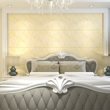 New Modern imitation marble tile wallpaper Simple thick 3D stereoscopic video wall Bedroom living room TV background wall paper beibehang bohemian ethnic wallpaper bedroom living room background wall paper roll imitation tile beauty salon southeast asian
