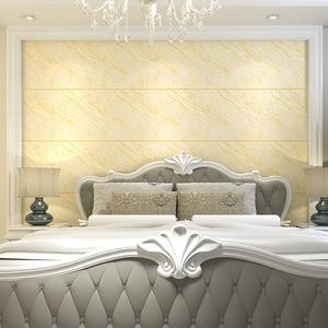 Papel tapiz moderno de baldosa de mármol de imitación, Simple, grueso, 3D, vídeo estereoscópico, pared, dormitorio, sala de estar, TV, papel de pared