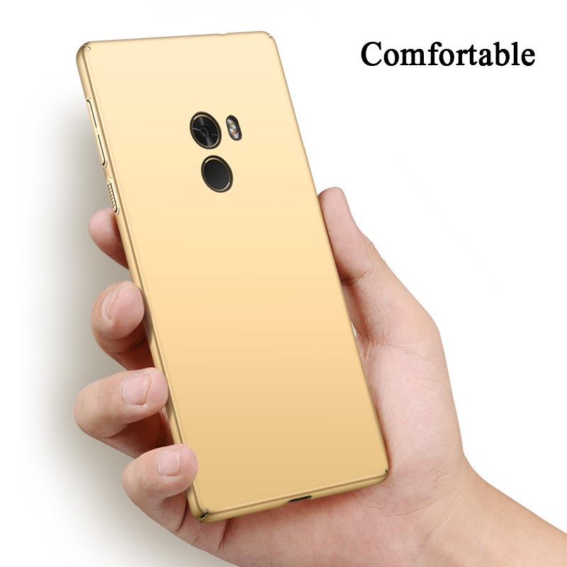 Para Xiaomi Mi Mix 2 3 Funda de lujo Utral Thin Matte Hard PC Fundas - Accesorios y repuestos para celulares - foto 6