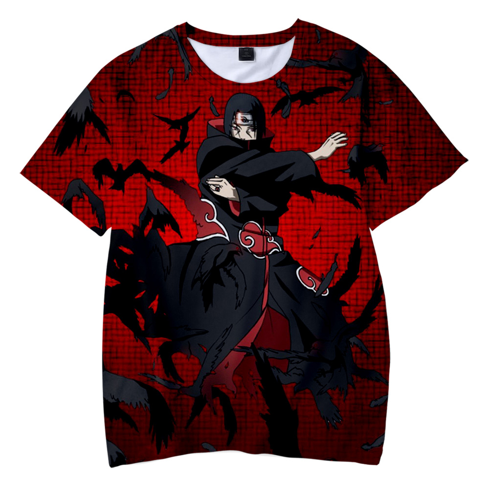 <font><b>BF</b></font> Naruto New 3D Clothes Print <font><b>Children</b></font> summer beach t shirt 2019 Hot Sale boys/girls Casual Short Sleeve t-shirt image