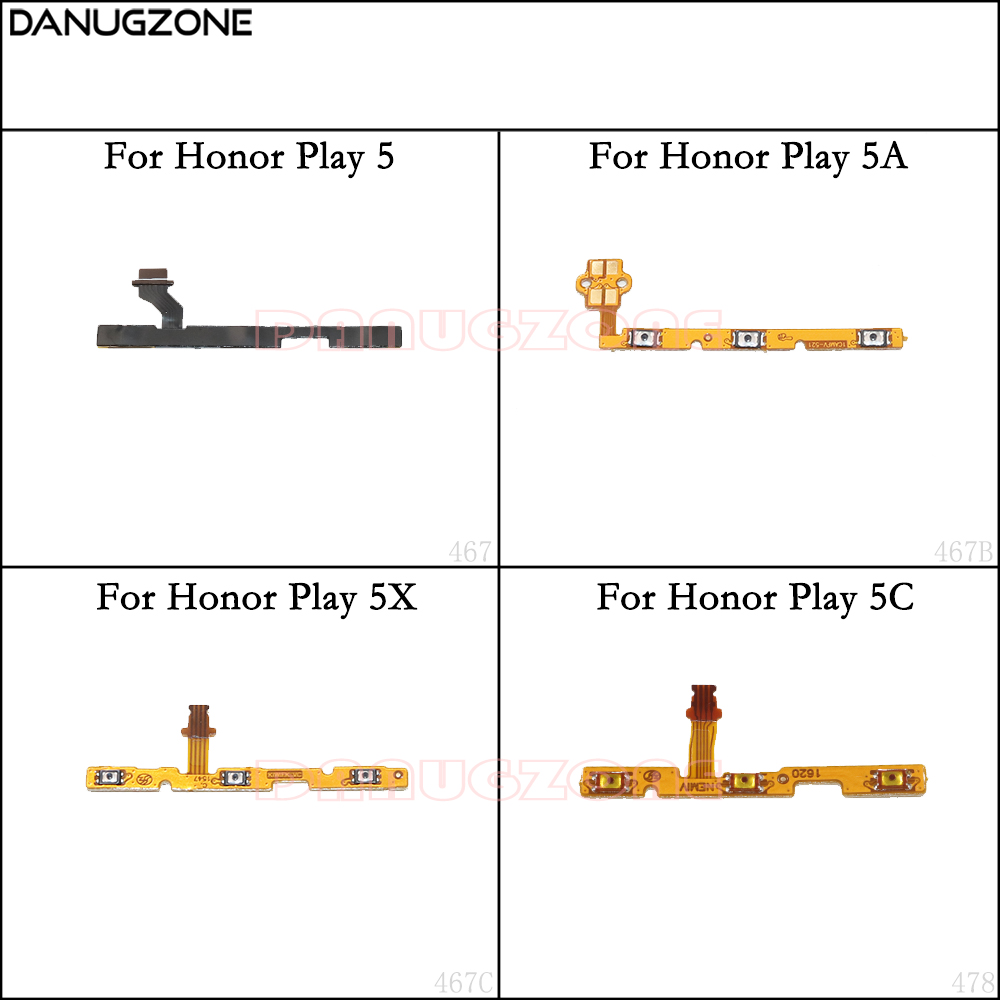 Power Button Switch Volume Button Mute On / Off Flex Cable For Huawei Honor Play 5X 5C 5 5A
