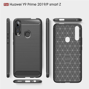 Image 5 - For Huawei P Smart Z Case Armor Protective Soft TPU Silicone Phone Case For Huawei P Smart Z Back Cover For Huawei P Smart Z