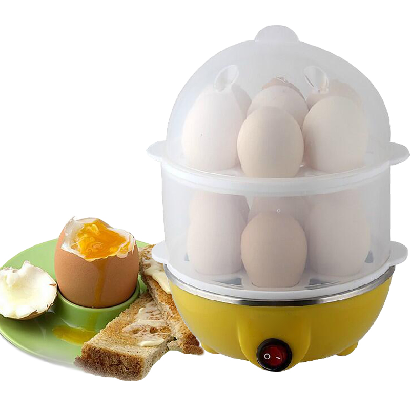 Mini Egg Boiling Cooker stainless steel disc egg steamer breakfast steamed egg machine household egg machine 220v 600w 1 2l portable multi cooker mini electric hot pot stainless steel inner electric cooker with steam lattice for students