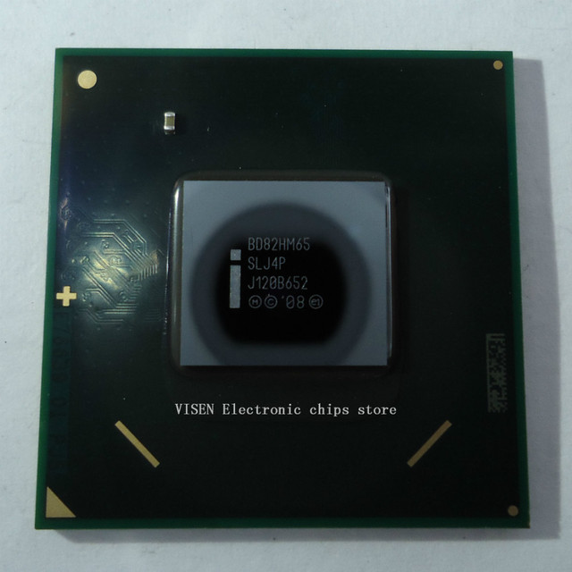 BD82HM65 SLJ4P chipset integrado 100% novo, Lead-free bola de solda, garantir o original, não recondicionado ou desmontagem