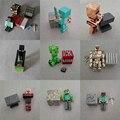 28 pcs/9 conjunto brinquedos 3-4 polegada steve trepadeira minecraft enderman figuras de ação modelo brinquedos de Natal de Aniversário Presente de natal para Crianças