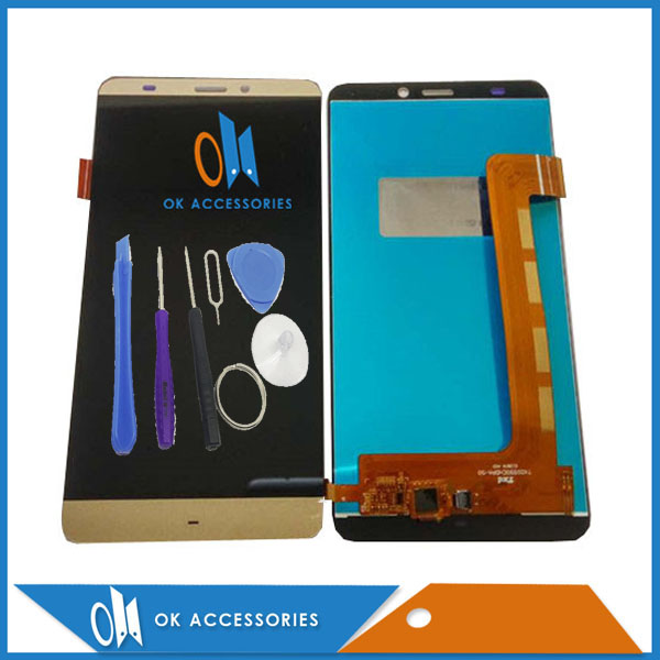 For Prestigio Grace S5 LTE PSP5551 DUO PSP 5551 DUO LCD Display+Touch Screen Digitizer Black White Gold Blue Gray Color With Kit