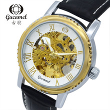 Оптовая продажа фабрики прямые поставки высокого класса мужские часы полые автоматические механические часы горячая fashion бизнес