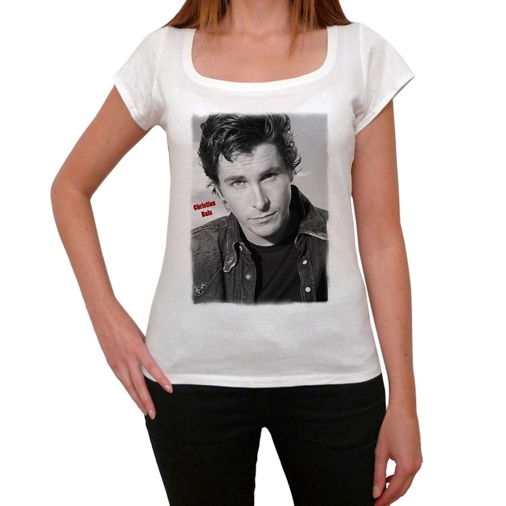 Christian Bale Tshirt Femme T-shirt