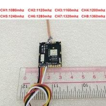 35 км работа 200 мВт 1,2G беспроводной передатчик 1,3G Отправитель беспроводной CCTV 1,3G форма передачи FPV передатчик Дрон передатчик FPV tx