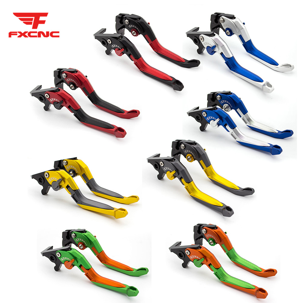 For Kawasaki NINJA 250R 2008 - 2012 3D Adjust Folding Extendable Motorcycle Brake Clutch Levers For NINJA 300R/Z300 2013 - 2017For Kawasaki NINJA 250R 2008 - 2012 3D Adjust Folding Extendable Motorcycle Brake Clutch Levers For NINJA 300R/Z300 2013 - 2017