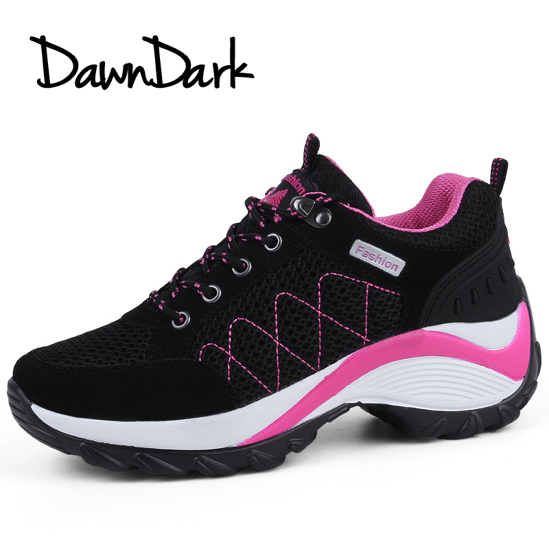Hiking Shoes Women Autumn Winter Ladies Trekking Outdoor Boots Leather Black Gray Women Climbing Leather Sport Shoes