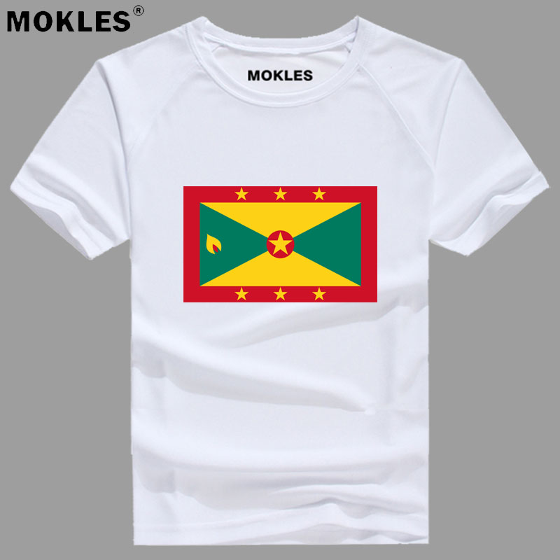 GRENADA t shirt diy free custom made name number grd t-shirt nation flag gd country college print photo logos word text clothing