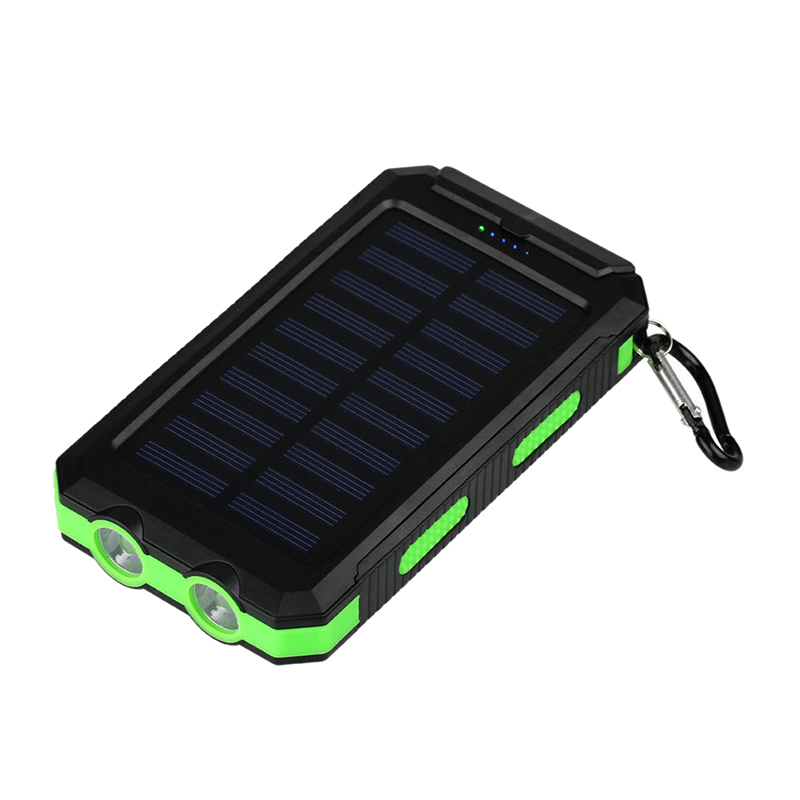 No Battery Diy Power Bank Case Battery Charger Kits Box Attractive Fashion 100% Quality Waterproof 50000mah Solar Panel Led Dual Usb Ports Cellphones & Telecommunications Mobile Phone Accessories