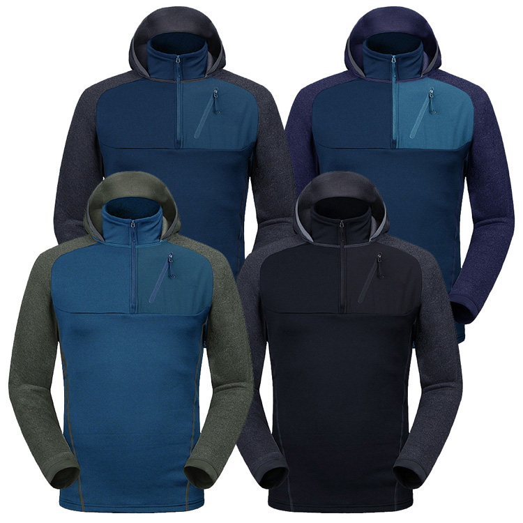 Autumn Winter New Outdoor Hiking Male Fleece Windproof Coats Thermal Polar Fleece Breathable Jackets Camping Fishing Jacket