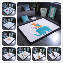 Baby Play Floor Mats Childrens Thickened Tapete Infantil Room Crawling Pad Kids Carpet Modern Home Area Rugs and carpets