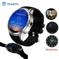 Teamyo x200 Smart Watch teléfono 1.39 ''pantalla redonda smartwatch Android soporte tarjeta SIM MP3 GPS Smart Watch con cámara