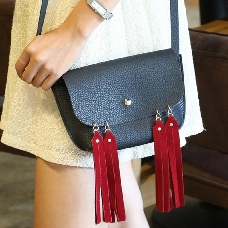 Moda 2017 Mini Bolsa Bag Femei Bomboane Color Ciorapi Messenger Pungi - Genți