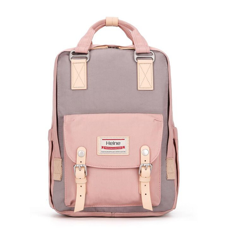 Heine Nappy bag Diaper backpack Multi-function mummy bag Large capacity mother pregnant women change bags Travel Pad