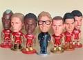 6.5 cm Luis Suarez Gerrard Steven Klopp Mario Balotelli Figura Fernando Torres Liverpool Fc Camisa de Futebol Caçoa o Futebol de Futebol