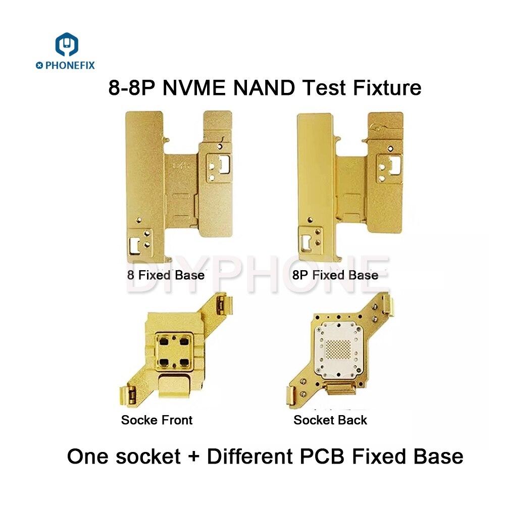 WL 64bit PCIE NVME NAND Flash bon mauvais outil de test pour iphone 5 5C 5S 6 6P 6S 6SP 7 7P 8 8P carte mère test montage