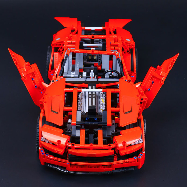 Lepin 20028 1281pcs Technic Series Super Car Assembly Toy Car Model