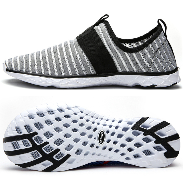 04bc20197c6aa6 ALEADER Breathable Casual Shoes Men Comfortable Walking Shoes Lightweight  Water Shoes For Men Slip-on Travel Shoes Big Size 14