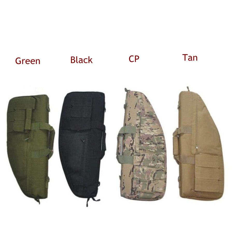 70cm Gun Carrying Bag Tactical Outdoor Hunting Shoulder Handle Rifle Gun Case 4 Mgazine Pouch