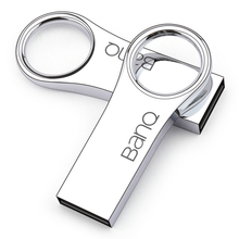 BanQ P8 USB Flash Drive, 64GB Metal Waterproof Pendrive USB Memory Stick 32GB Pen Drive Real Capacity 16GB USB Flash U disk