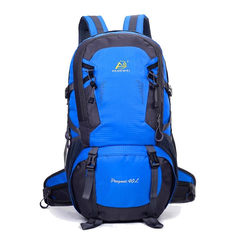 2018 스포츠 야외 배낭 방수 나일론 하이킹 배낭 운동 - 스포츠 가방