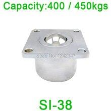 Бесплатная доставка СИ-38 шарикоподшипник блок, SI38 450kgs емкость Тяжелых Квадратный Фланец Мяч в блоке переноса