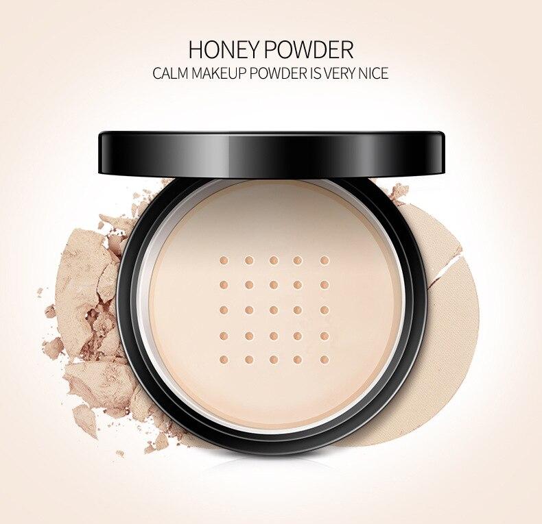 Öl Control Powder Make-Up Lang Anhaltende Bronzer Matte Erhellen Mineral Dunkle Haut Contour Lose Gesicht Pulver