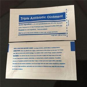 Image 3 - 0.9 g/pak Triple Antibiotica Zalf Gel voor Brandwonden Ehbo kit Accessoires Dressing Burn Crème Wondverzorging Anti infectie