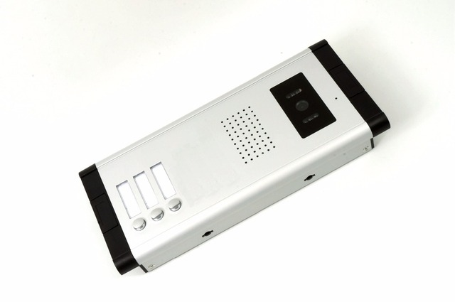 3 floor house intercom video door phone entrance machine for home security system