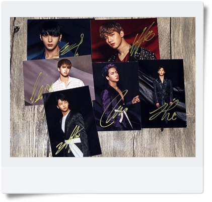 signed VIXX autographed  MINI 4th album original photo 6 inches 6 photos set  freeshipping 062017 got7 got 7 junior jackson autographed signed photo flight log arrival 6 inches new korean freeshipping 03 2017