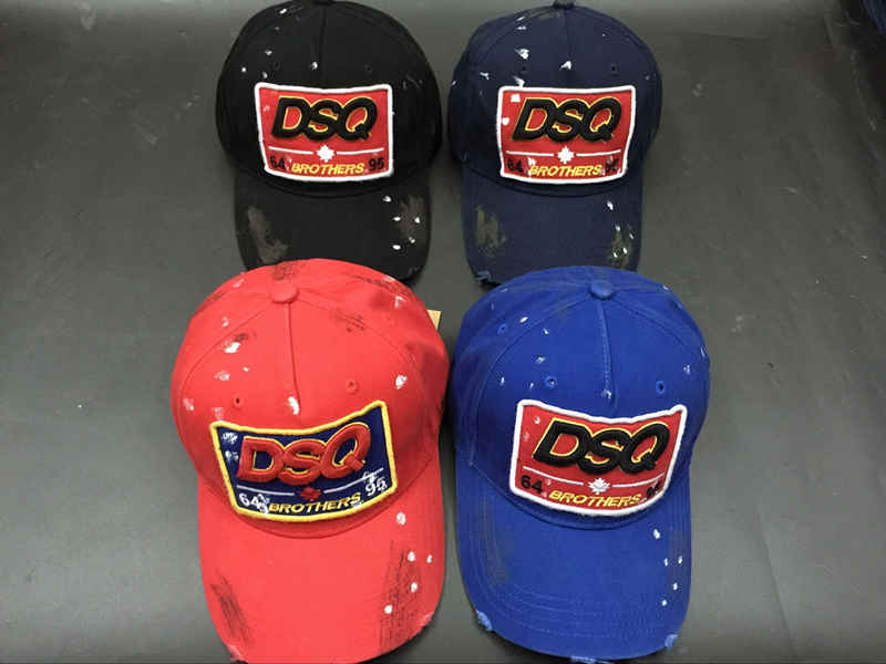 Brothers Twins 2018 DSQ ICON Baseball Caps For Men Women Streetwear hats  Leisure Cotton truckers nhl caps Couple bone masculino-in Baseball Caps  from ... f7e922c63aa