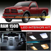 Free Shipping 10pc LED Lights car-styling Hi-Q Interior Package Kit For 02-11 Dodge Ram 1500-3500