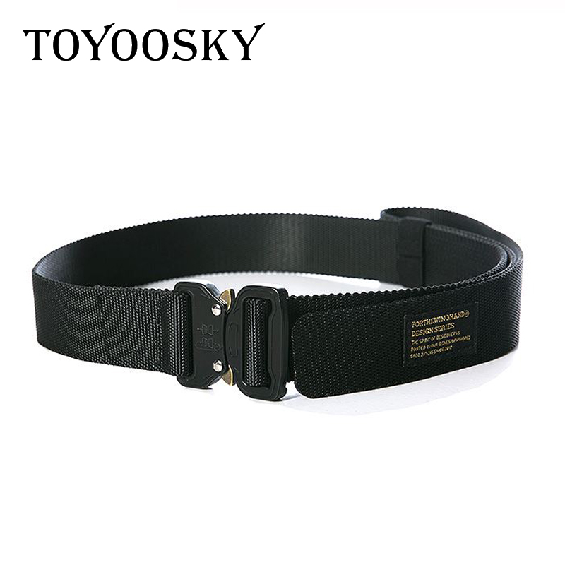 2018 Harajuku Design Men Women Hip Hop Streetwear Purple Chinese Mahjong Letter Women Belt Canvas Women Waistband Belts Toyoosky High Quality And Inexpensive Men's Belts