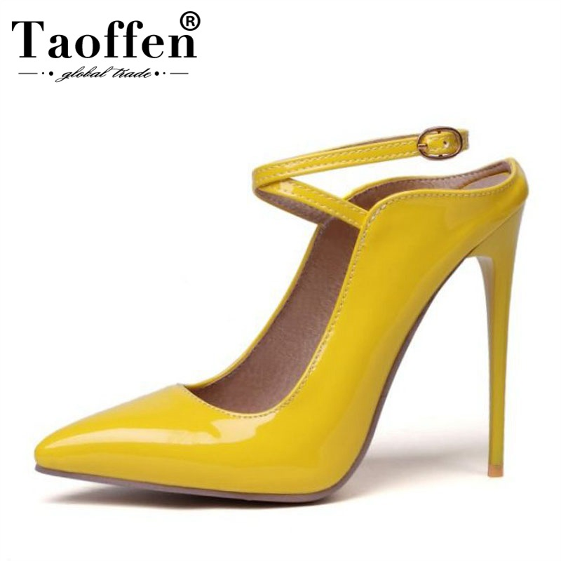 TAOFFEN Size 34-47 Women Super High Heel 5 Colors Pumps Party Sexy Dating Shoes Women Office Lady Thin Heel Club Spring Pumps TAOFFEN Size 34-47 Women Super High Heel 5 Colors Pumps Party Sexy Dating Shoes Women Office Lady Thin Heel Club Spring Pumps