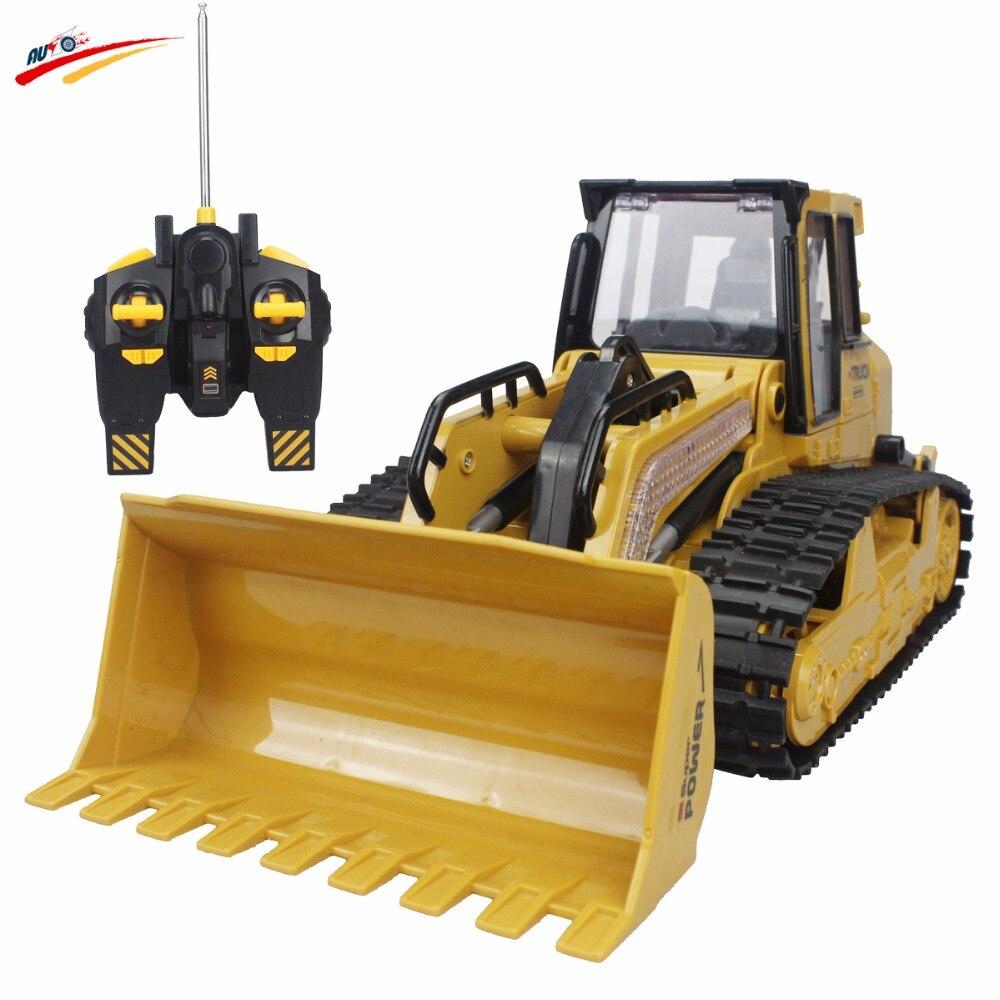 6-канальный rc грузовик бульдозер caterpillar трек