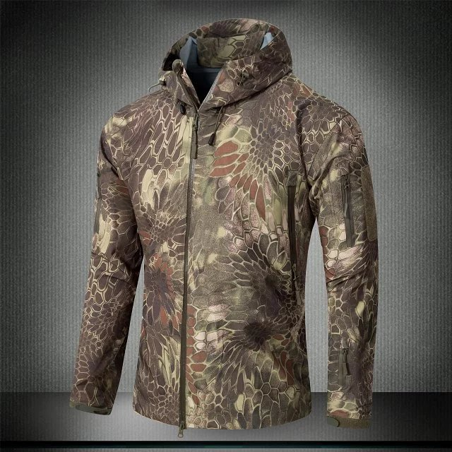 Army Jacket Men Military Clothing Hardshell Cothes Camouflage Waterproof Jacket And Coat For Men Multicam Windbreaker Coat Jackets