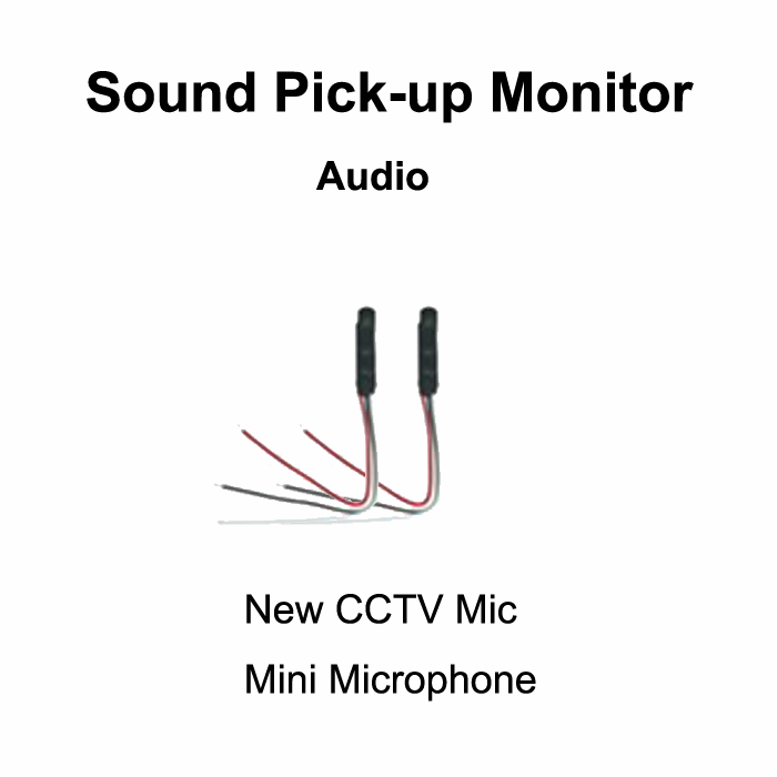2pcs CCTV Camera Mic High sensitive MIni Sound Pick-Up Monitor Security Camera Microphone Voice Audio CCTV System panel microphone hidden surveillance mic cctv security agc pick up audio rca sound monitor