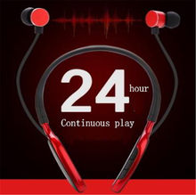 Hot sale wireless headset sports Bluetooth earphone runs with necks Miniature headset is suitable for XiaoMi huawei iphone phone(China)