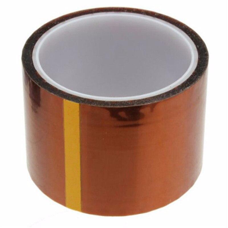 50mm x100ft un lado autoadhesivo de alta temperatura resistente al calor polyimide Cintas para BGA PCB