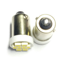 Free shipping(50pcs/lot)24V BA9S LED 8SMD auto led light bulbs machine working bulbs 3797 281 13875 replacement 24v lamp
