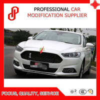 High quality Stainless steel modification car front grille racing grills grill cover for Mondeo 2013 2014 2015 2016 2017 2018