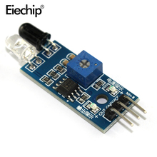 10pcs/lot  IR Infrared Obstacle Avoidance Sensor Module for